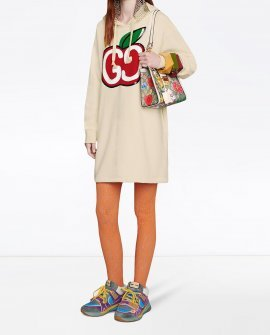 Gucci GG Apple hoodie dress