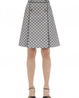 Gucci GG Canvas A Line Skirt