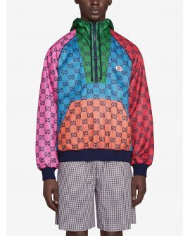 Gucci GG Multicolour jersey hoodie