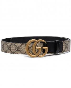 Gucci GG Supreme Marmont leather belt