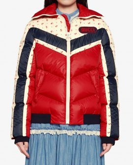 Gucci Nylon jacket with Gucci patch
