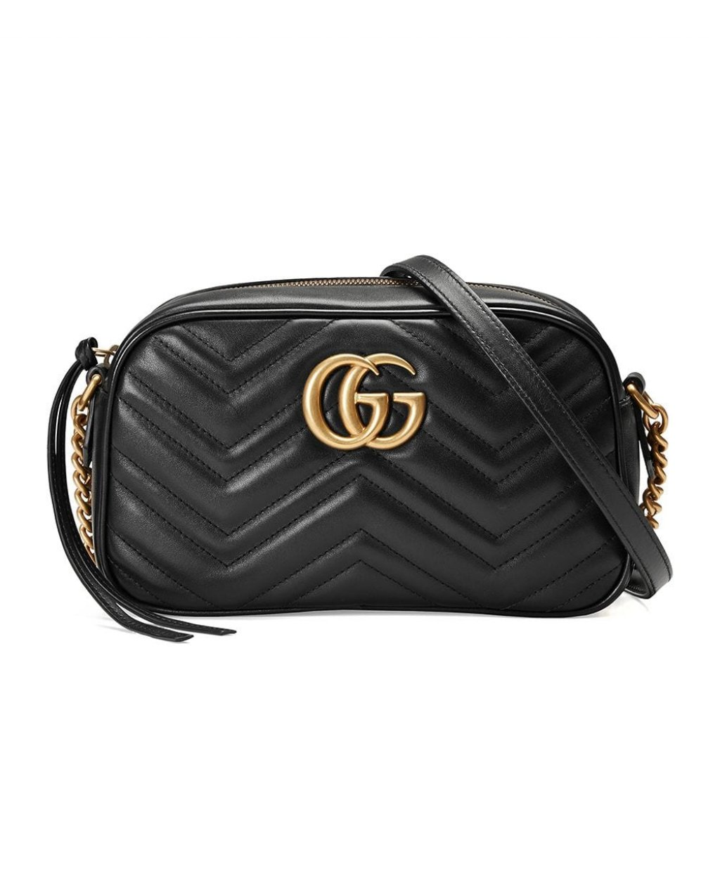 Gucci Small GG Marmont 2.0 Matelassé Leather Camera Bag