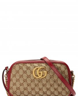 Gucci Small GG Marmont 2.0 Quilted Camera Shoulder Bag