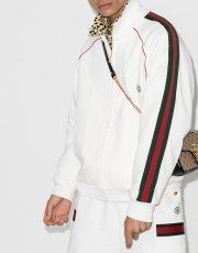 Gucci Web-stripe sweatshirt