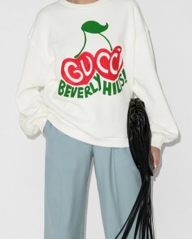 Gucci cherry print sweatshirt