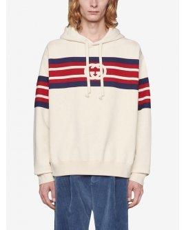 Gucci interlocking G-print hoodie