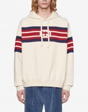 Gucci interlocking G-print hoodie