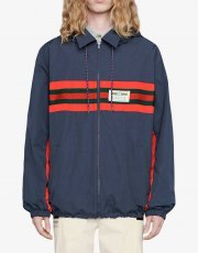 Gucci logo-appliqued hooded windbreaker