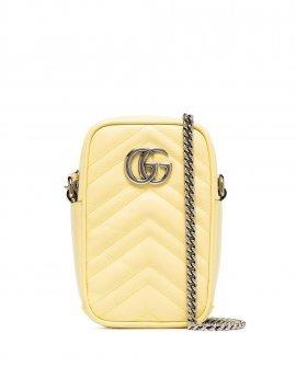 Gucci mini Marmont leather crossbody bag
