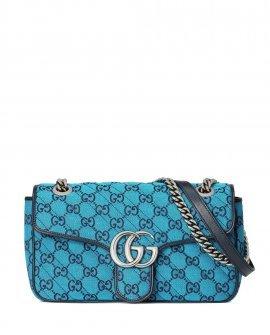 Gucci small GG Marmont Multicolor shoulder bag