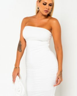 Highlight Midi Tube Dress