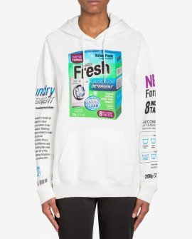 Hooded Sweatshirt With Packaging Print