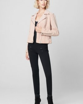 Jacket in Pink Pearl