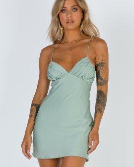 Jessa Mini Dress Sage