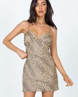 Jessa Mini Leopard Dress