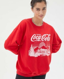 Junk Food Coca-Cola Winter Sweatshirt