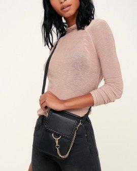 Kaja Black Convertible Bag