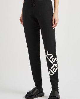 Kenzo Black logo cotton-blend sweatpants