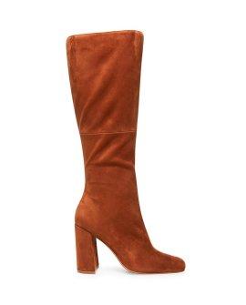 Leilana Chestnut Suede Boots