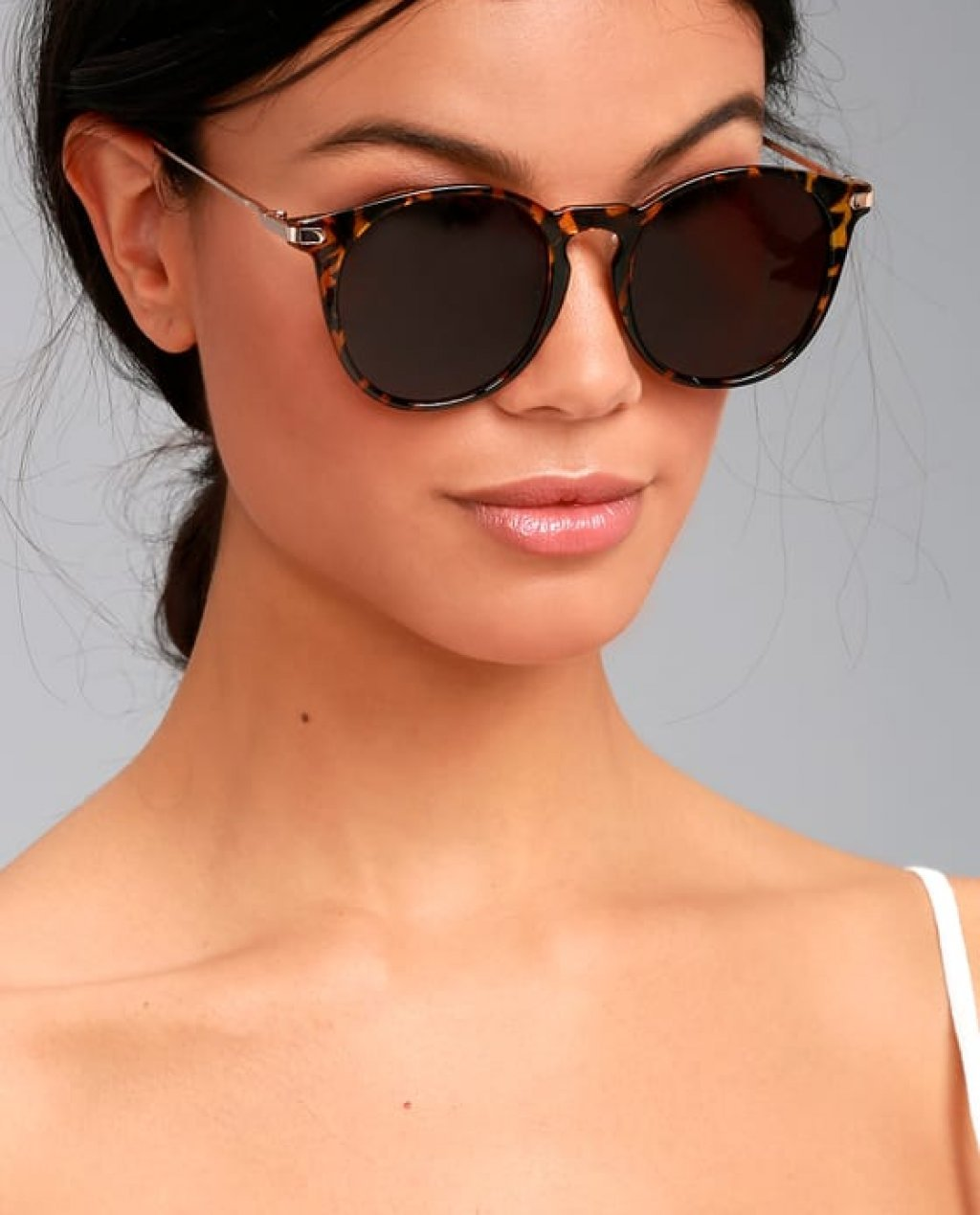 Light It Up Tortoise Sunglasses