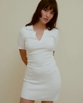 Lioness The Vicky Ribbed Mini Dress