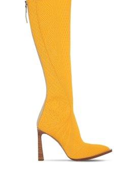 Fendi Jacquard Tall Boots