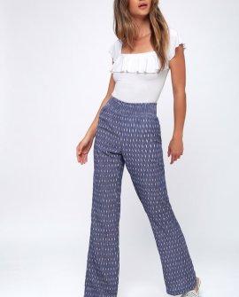 Lyric Blue Print Pants