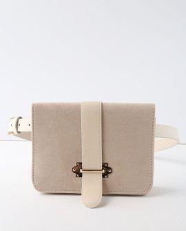 Mariella Beige Belt Bag