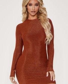 Juniper Long Sleeve Mini Dress