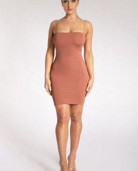 Mia Thin Strap Bodycon Mini Dress