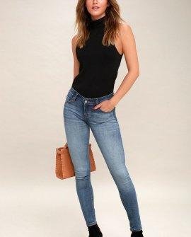 Mica Medium Wash Skinny Jeans