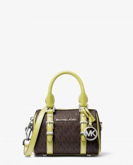 Michael Kors Bedford Legacy Extra-Small Logo Duffle Crossbody Bag