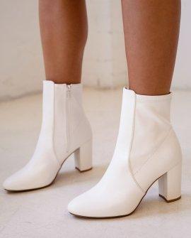Morris White Boots