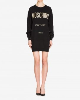 Moschino Couture Wool Dress