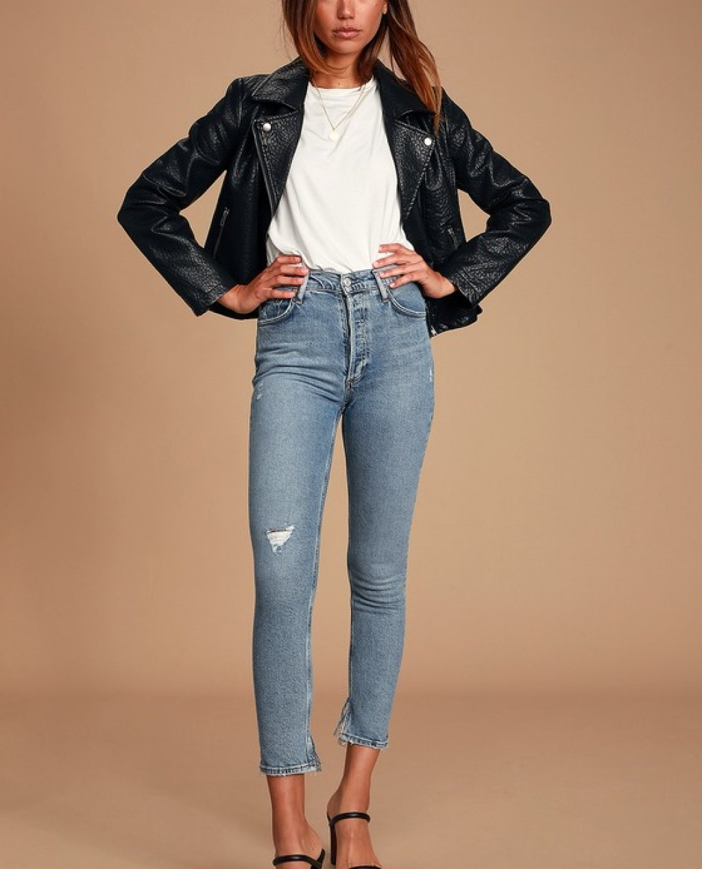 Nico High Rise Light Blue Skinny Jeans