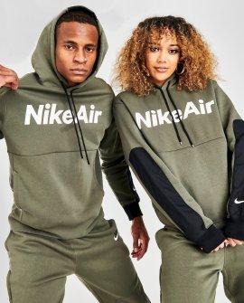 Nike Air Block Logo Fleece Hoodie