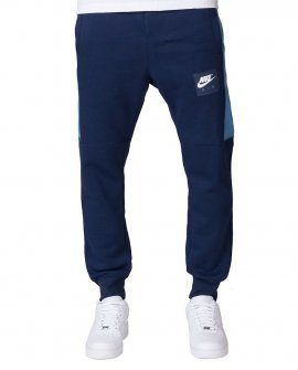 Nike Air Fleece Jogger Mens Navy Blue