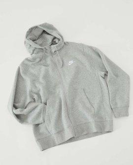 Nike Sportswear Club Zip-Front Hoodie Sweatshirt