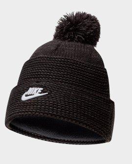 Nike Sportswear Cuffed Futura Pom Beanie Hat