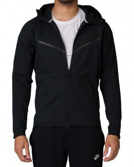 Nsw Fleece Nike Zip Hoodie Black