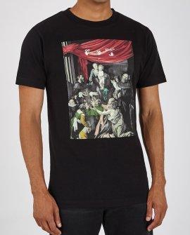 OFF WHITE Caravaggio printed cotton T-shirt