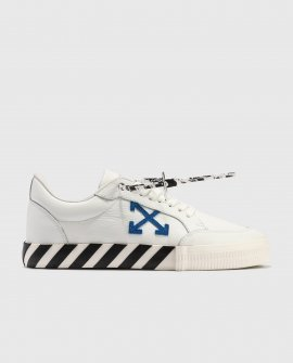 OFF-WHITE Low Vulcanized Calf Leather Sneakers