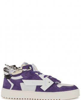 OFF-WHITE Off-Court 3.0 purple panelled sneakers