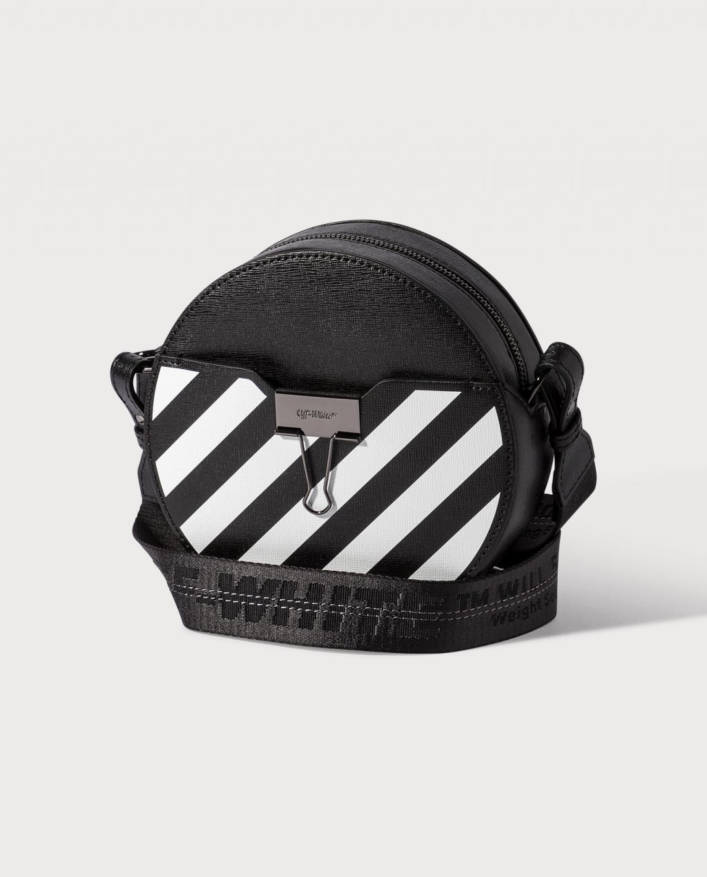 Off-White Diag Round Bag