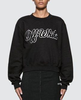 Off-White Textured Logo Sweatshirt