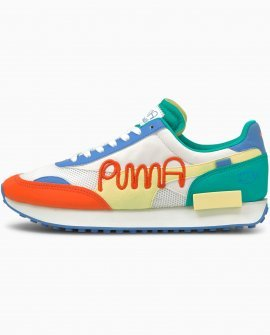 PUMA x MR DOODLE Future Rider Sneakers