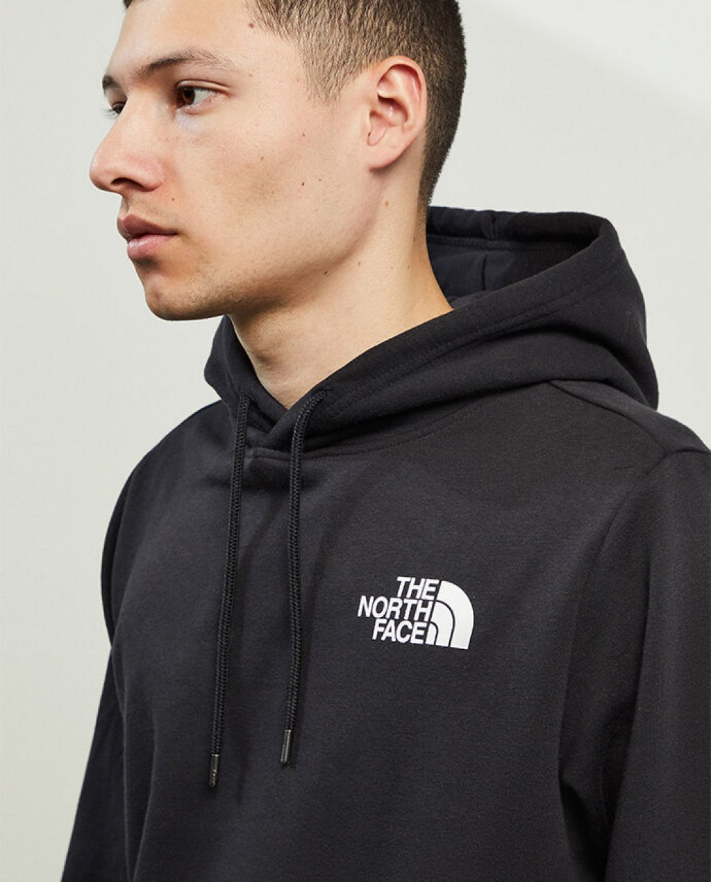 The North Face Black Red Box Hoodie