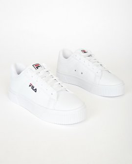 Panache White Multi Platform Sneakers