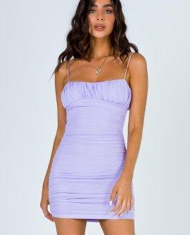 Penney Mini Dress Purple