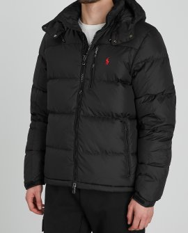 Polo Ralplh Lauren Black quilted shell jacket
